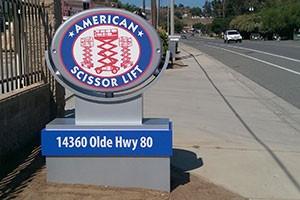 Building American Scissor Lift El Cajon