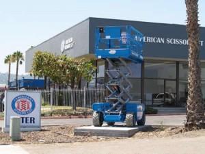 Equipment American Scissor Lift San Diego   El Cajon