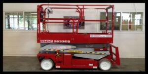 American Scissors Used Equipment aerial lift machines